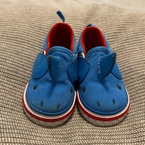 Vans classic slip on baby shoes